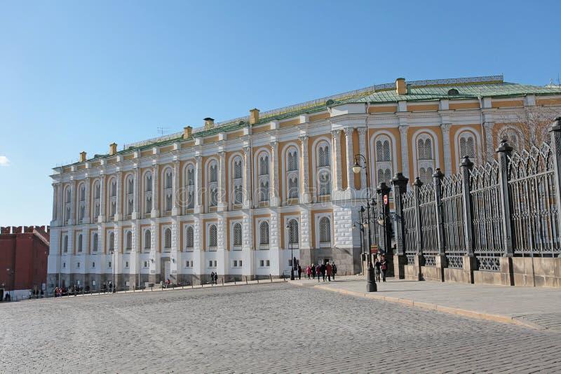 A câmara do arsenal, Kremlin de Moscou imagem de stock
