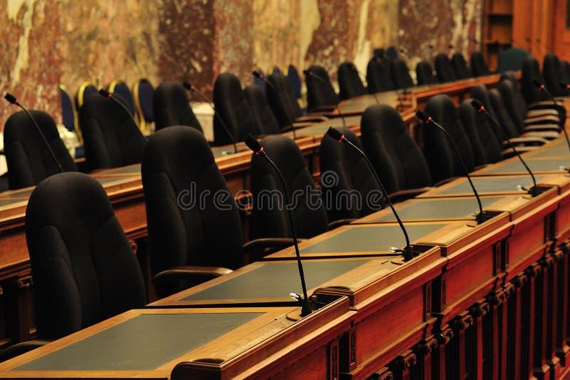 Câmara do edifício do parlamento foto de stock