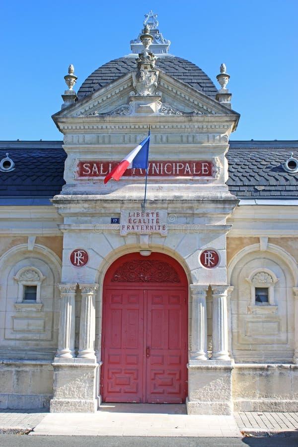Câmara municipal, ` Angely de Saint-Jean-d, França imagem de stock royalty free