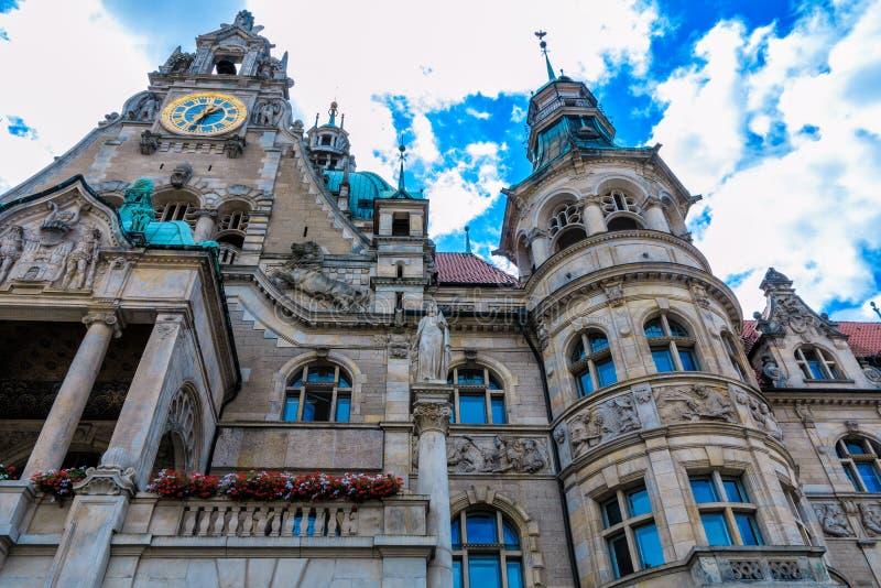 Câmara municipal catita em Hannover, Alemanha fotos de stock