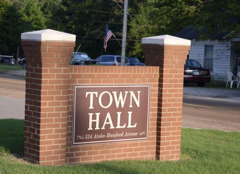 Câmara municipal de Atoka, Atoka Tennessee imagens de stock royalty free