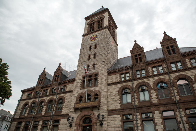 Câmara municipal de Cambridge imagens de stock royalty free