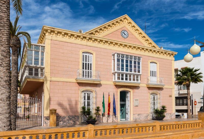 Câmara municipal de Carboneras fotos de stock