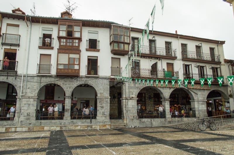 Câmara municipal de Castro Urdiales fotografia de stock royalty free