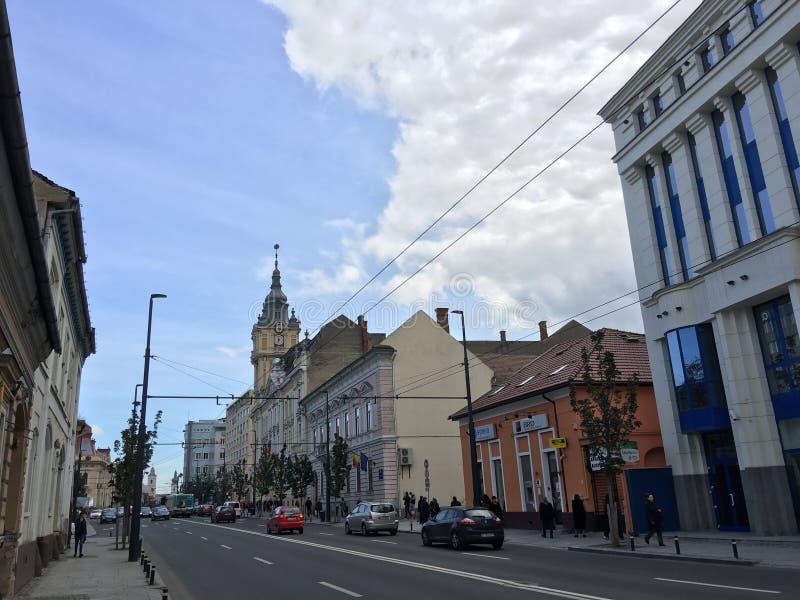 Câmara municipal de Cluj-Napoca fotos de stock