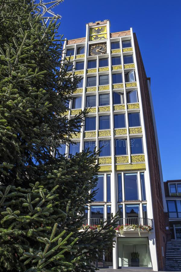 Câmara municipal de Dueren, Alemanha foto de stock