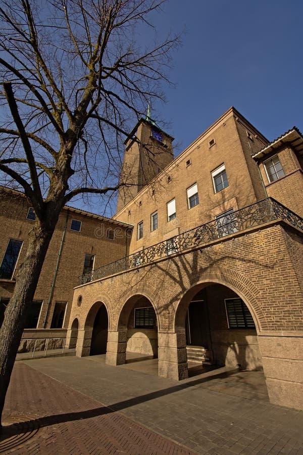 Câmara municipal de Enschede, os Países Baixos imagens de stock royalty free