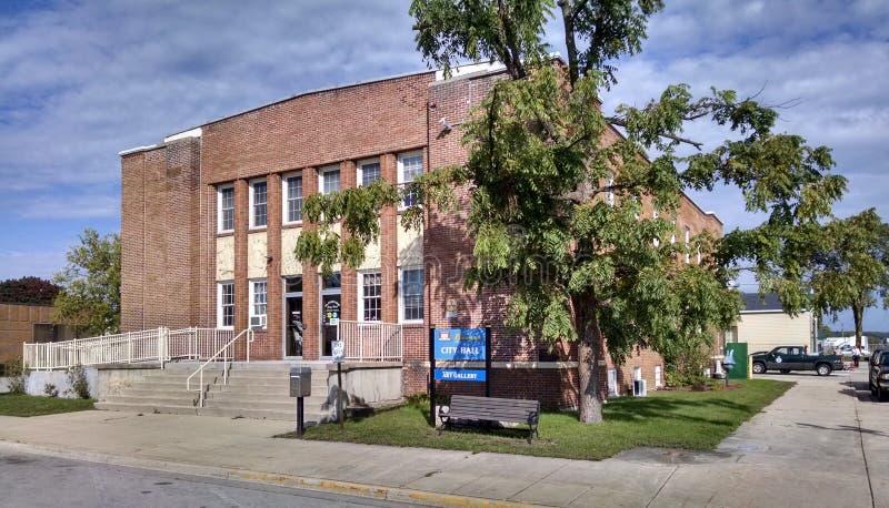Câmara municipal de Gladstone Oregon imagem de stock