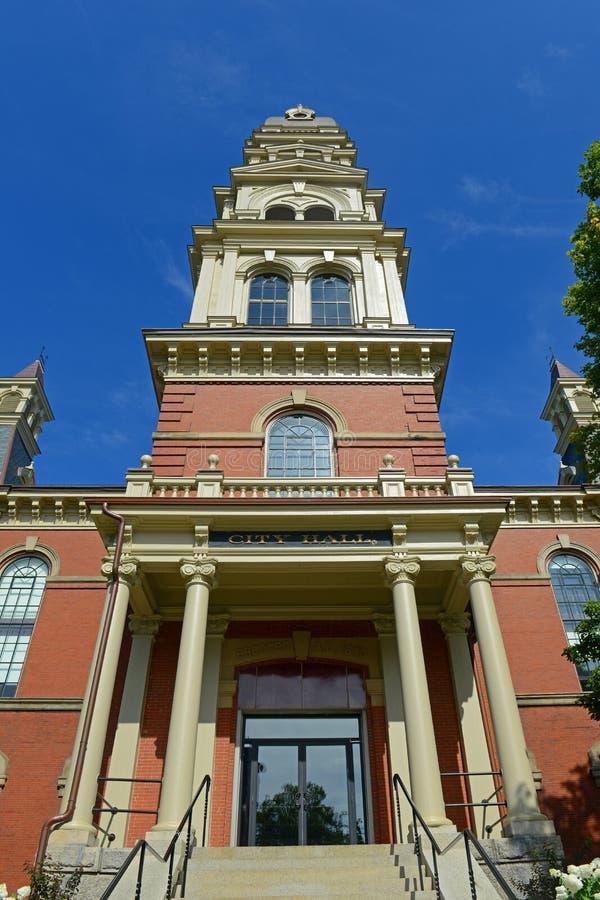 Câmara municipal de Gloucester, Massachusetts, EUA foto de stock