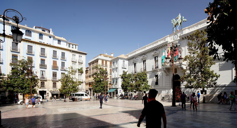 Câmara municipal de Granada fotos de stock royalty free