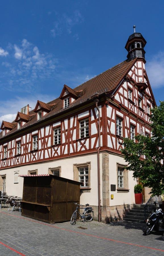 Câmara Municipal de Herzogenaurach, na Baviera, Alemanha imagem de stock royalty free