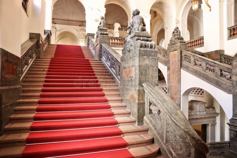 Câmara municipal de Leipzig imagens de stock royalty free