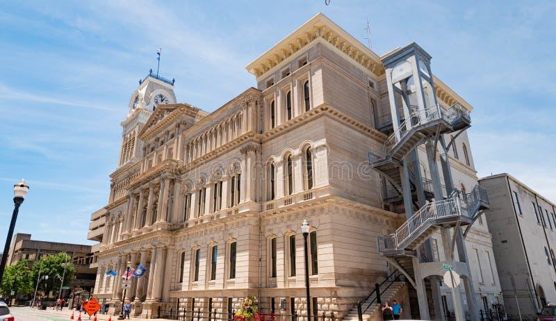 Câmara municipal de Louisville - LOUISVILLE EUA - 14 DE JUNHO DE 2019 fotografia de stock