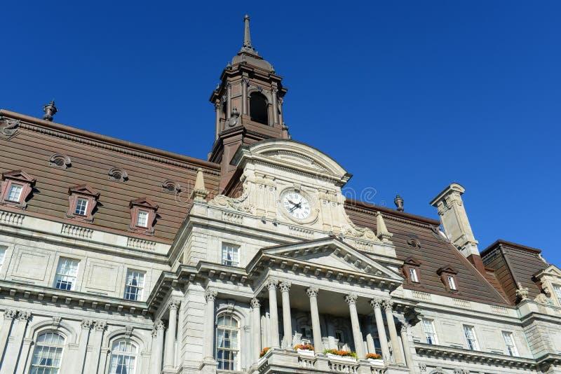 Câmara municipal de Montreal, Quebeque, Canadá foto de stock