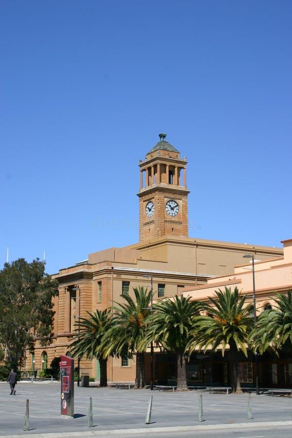 Câmara municipal de Newcastle fotografia de stock royalty free