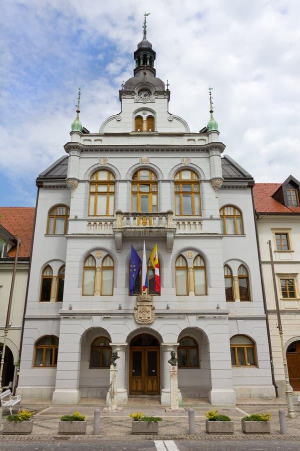 A câmara municipal de Novo Mesto imagem de stock royalty free