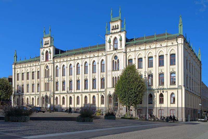 Câmara municipal de Orebro, Sweden fotografia de stock