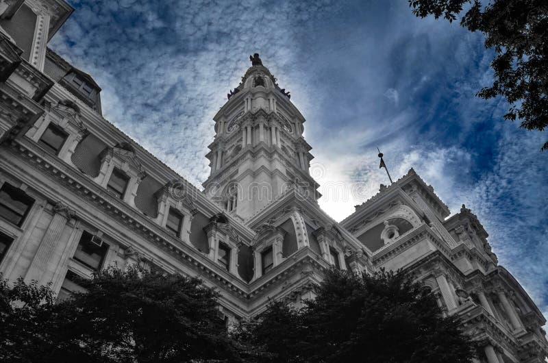 Câmara municipal de Philadelphfia - EUA foto de stock royalty free