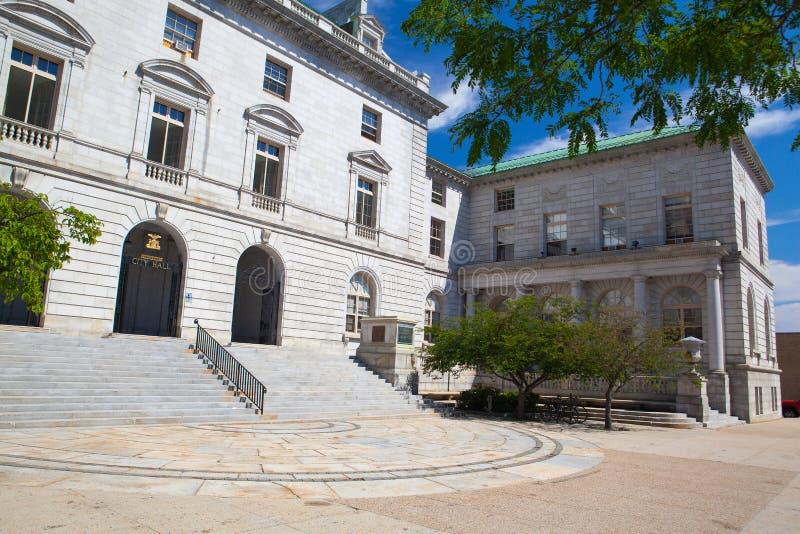 A câmara municipal de Portland é o centro do governo municipal em Portl fotos de stock royalty free