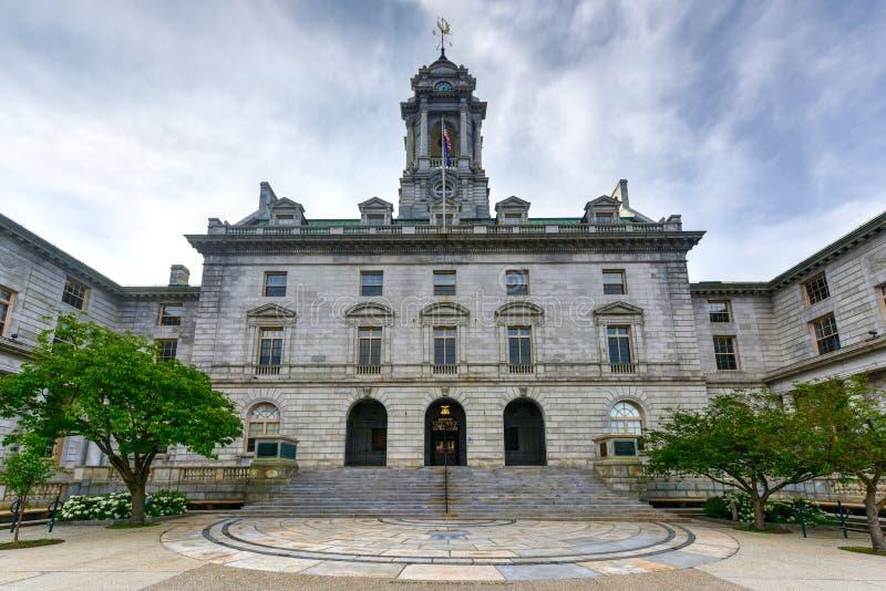Câmara municipal de Portland - Maine fotos de stock royalty free