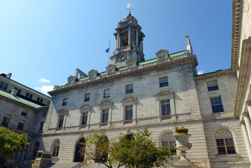 Câmara municipal de Portland, Maine, EUA imagem de stock royalty free