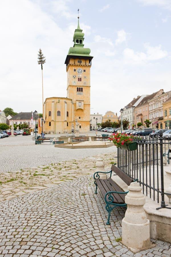 câmara municipal de Retz, Baixa Áustria, Áustria fotos de stock