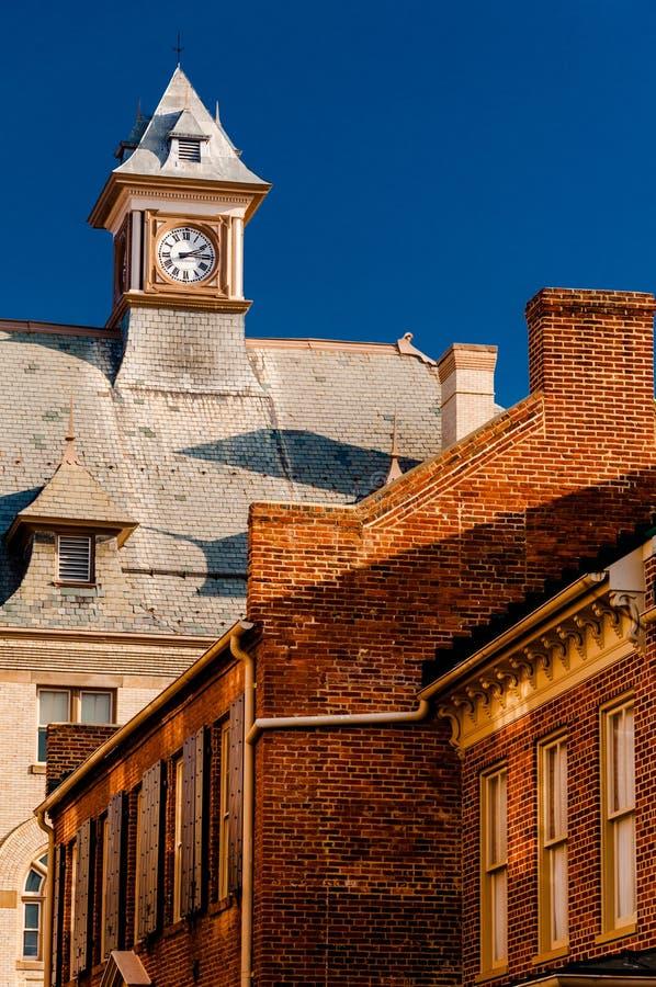 Câmara municipal de Rouss, em Winchester do centro, Virgínia foto de stock