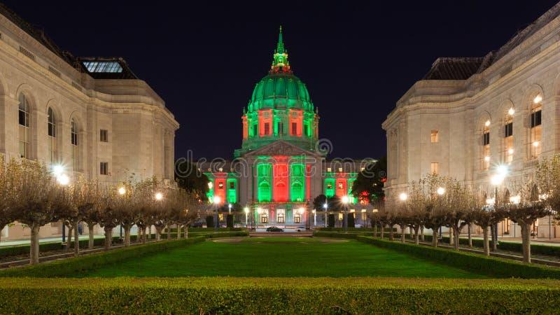 Câmara municipal de San Francisco imagem de stock