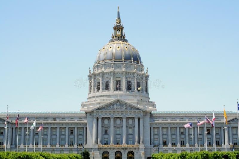 Câmara municipal de San Francisco imagens de stock