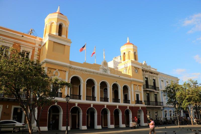 Câmara municipal de San Juan imagens de stock