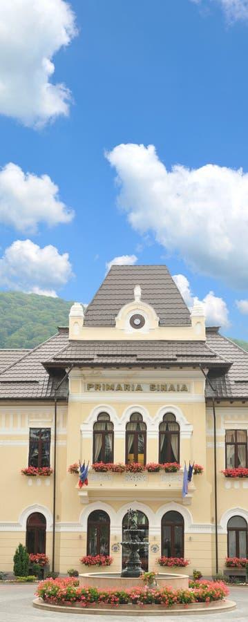 Câmara municipal de Sinaia imagens de stock