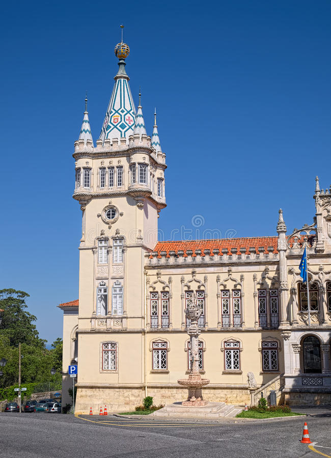 Câmara municipal de Sintra foto de stock royalty free