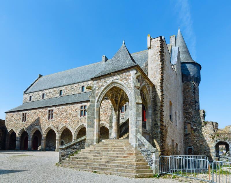 A câmara municipal de Vitre, França imagem de stock