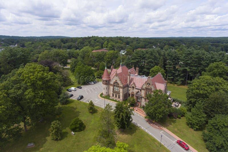 Câmara municipal de Wellesley, Massachusetts, EUA foto de stock royalty free