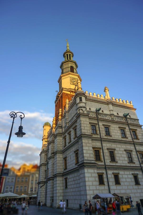 """Câmara municipal do """"de PoznaÅ foto de stock royalty free"""