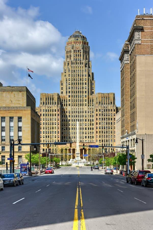 Câmara municipal do búfalo - New York imagem de stock