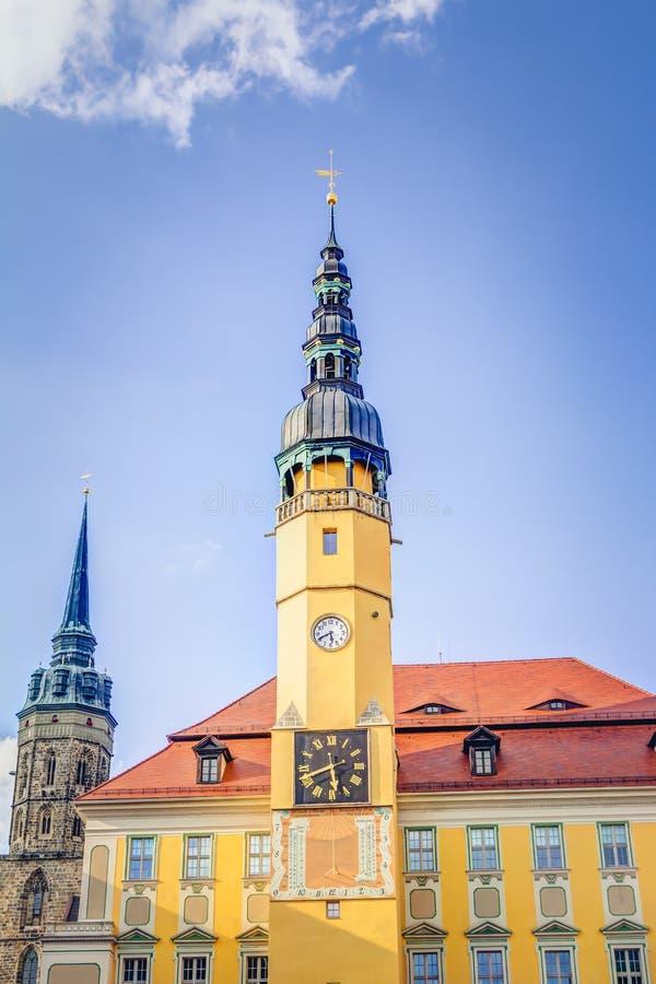 Câmara municipal em Bautzen foto de stock