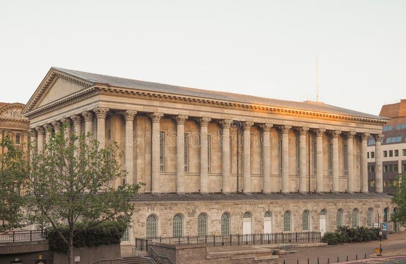 Câmara municipal em Birmingham foto de stock