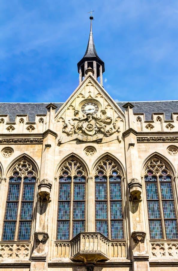 Câmara municipal em Erfurt fotos de stock royalty free