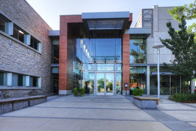 Câmara municipal em Milton, Canadá imagens de stock