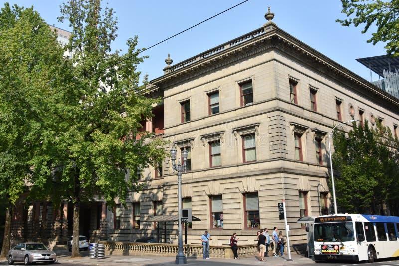 Câmara municipal em Portland, Oregon imagens de stock royalty free