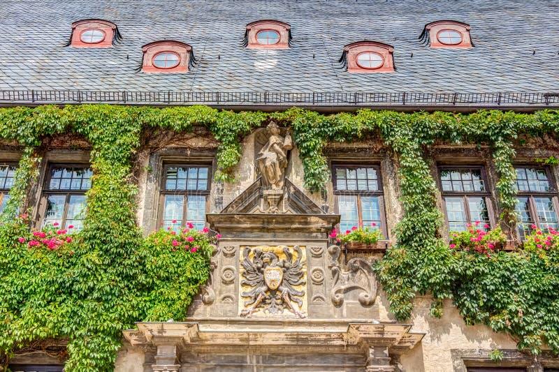 Câmara municipal em Quedlinburg, Alemanha foto de stock royalty free