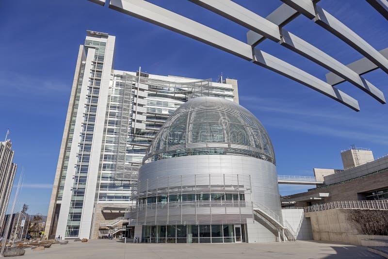 Câmara municipal em San Jose, Califórnia imagens de stock royalty free