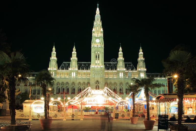 Câmara municipal em Viena imagens de stock royalty free