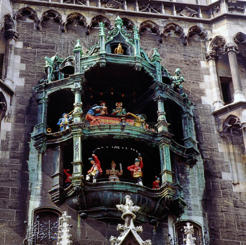 Câmara municipal, Munich foto de stock royalty free