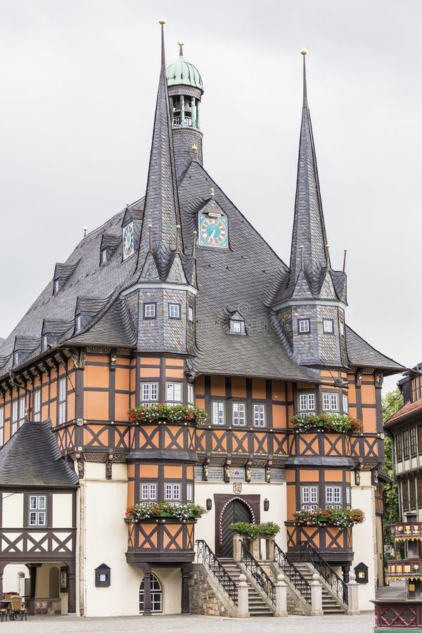 Download Câmara Municipal - Símbolo De Wernigerode Foto de Stock - Imagem de antigo, urbano: 80101126