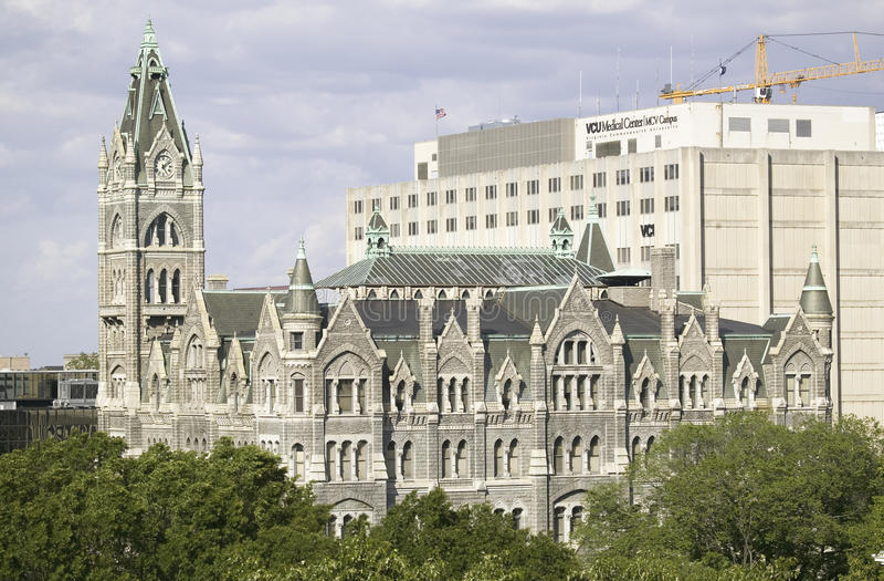 Câmara municipal velha imagem de stock royalty free