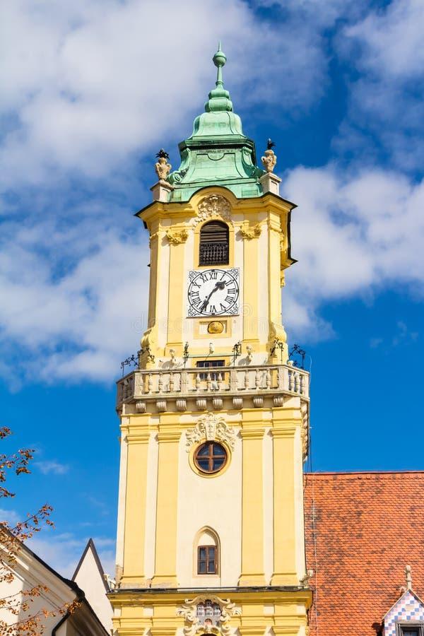 Câmara municipal velha Bratislava fotos de stock