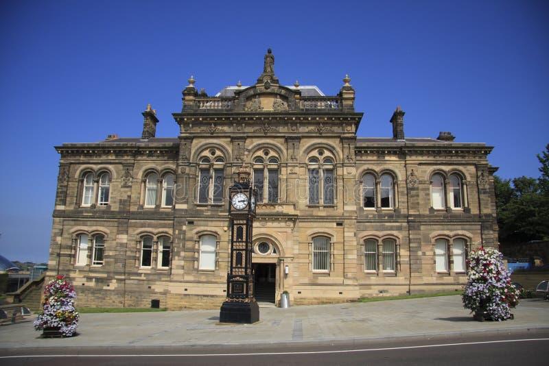 Câmara municipal velha de Gateshead imagens de stock