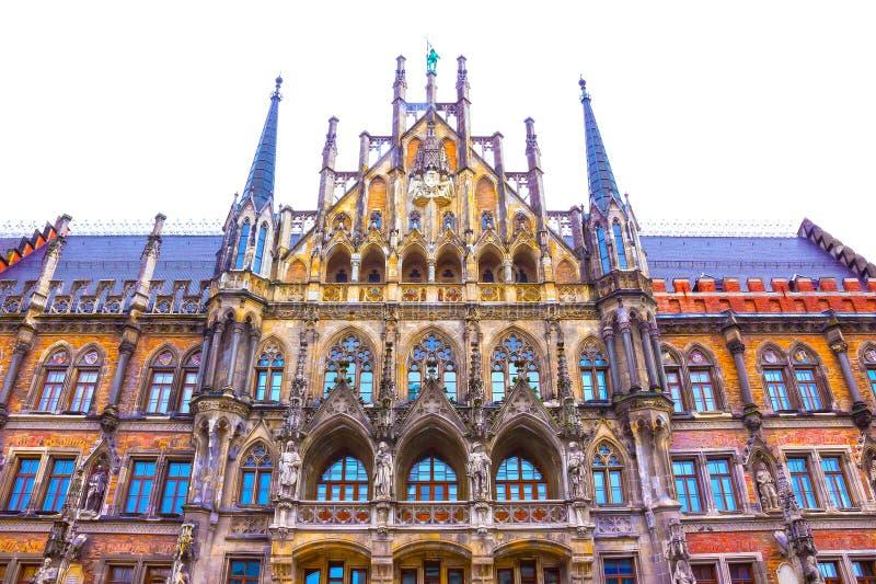 Câmara municipal velha famosa de munich - Alemanha imagem de stock royalty free